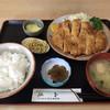 とんかつ山道 - 料理写真:ロースカツ定食