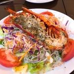 96570381 - オマール海老と彩り野菜のサラダ