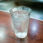 お好み焼・鉄板焼 88 パチパチ - ☆お水グラス(#^.^#)☆