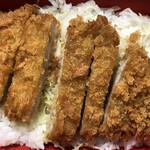 松乃家 - 味噌ロースカツ丼