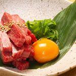 生肉専門店 焼肉 金次郎 - 厚切りトロユッケ