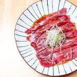 生肉専門店 焼肉 金次郎 - ツラミのお刺身