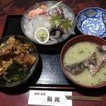 鮨政 - 料理写真:西海コラボ丼=1512円