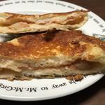 ベルベ - カリカリチーズの明太ポテト 断面