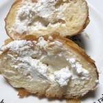 ベルベ - クリームドーナツの断面