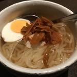 燦星庵(さんせいあん) - ネギ冷麺