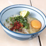 三嶋製麺所 - あつい  小