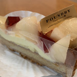 ファウンドリー - 青森県産ゼネラル・レクラークのタルト640円