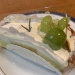 ファウンドリー - 長野県産シャインマスカットのマーブルタルト630円