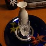 個室地鶏酒場 御蔵 - 豪快(徳利180ml)690円