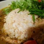 はるかなるカレー - 玄米