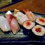 旬菜 籐や - 寿司盛り合わせ