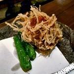 旬菜 籐や - カニ真丈の湯葉揚げ