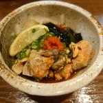 大衆酒場 まる和 - あん肝(480円)