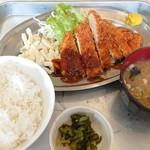 キッチンK - 料理写真:チキンカツ定食