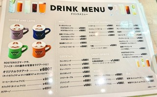 FIGHTERS DINING ROSTER - ドリンク メニュー