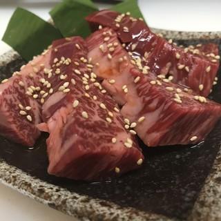 美味い肉は厚切りで!特上ハラミ