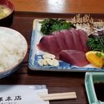 池澤本店 - 料理写真:かつおの刺身とたたき