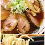 煮干中華 あさり - 肉中華そば(並)