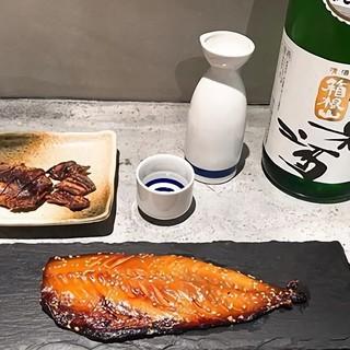 日本酒に合わないはずがない♪特選干物をご用意!!