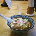 釜彦 - 元祖スープ入りヤキソバ