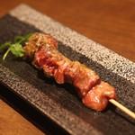 東京肉割烹 西麻布 すどう - 新鮮な串焼きも最高のお味です。