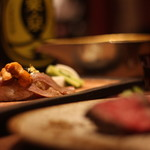 東京肉割烹 西麻布 すどう - 人気の肉寿司とウニのコラボは絶品そのもの…♪