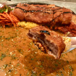 curry&cafe Warung - 薄くてカリッと。   日本人にも食べやすいスパイスカレー❤️