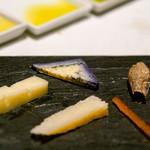 ブルガリ イル・リストランテ ルカ・ファンティン - チーズ