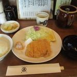 Marugo - ロースカツ定食
