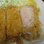 Marugo - ロースカツ(断面アップ)