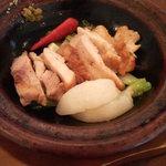 966806 - カニ美鶏の炙り焼き 柚子胡椒の風味