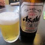 9660433 - まずはビール、スーパードライ