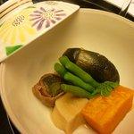 日本料理「雲海」 - 炊合わせ
