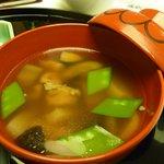 日本料理「雲海」 - のっぺい汁