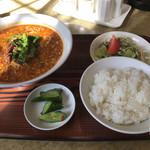 珍華 - 料理写真:タンタン麺セット 864円(税込)