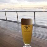 Cafe&dining blue terminal - 横浜ベイブリッジを眺めながら