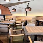 Cafe&dining blue terminal - テーブル席