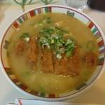 三男坊 - 料理写真:カツカレーラーメン