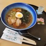 山岡駅 かんてんかん - 名物「寒天らーめん (500円)」