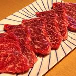 金沢文庫 肉汁センター - 脂っこい霜降り肉に飽きた大人の上カルビ・カイノミはヒレに近い部位だから赤身でジューシー♪