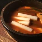 中華ダイニングa-chu a-chu - チーズトッポギ
