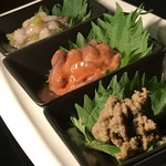 中華ダイニングa-chu a-chu - 珍味三種盛り