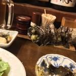 泪橋 - 泪橋(東京都中野区中野)地鶏もも串