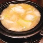 京鼎樓 - 白菜と干し貝柱の煮込み