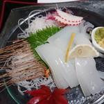 郷土料理 五色 - イカさし