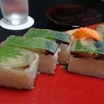 郷土料理 五色 - 鯖の押し寿司
