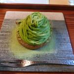 ながら茶房 本寿院 - 料理写真:抹茶モンブラン