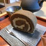 ながら茶房 本寿院 - ロールケーキ