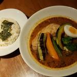 96617584 - 知床鶏野菜スープカレー北海道産(1650円)です。